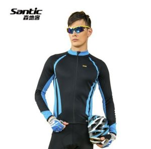 Santic Packing-Case New During The Spring and Autumn Riding Long Sleeve Shirt Clothing for Cycling Wear Men′s Singles Car Mc01031