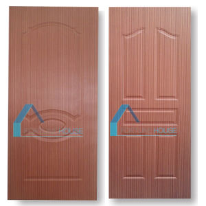 2.7mm Moulded Plywood Door Skin with Natural Cherry Wooden Veneer pictures & photos