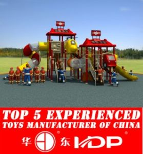 Outdoor Fire Man Collection Kids Park Playground Slide pictures & photos