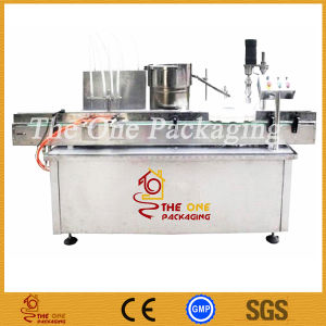 New Type 20-50ml Tube, Bottle Linear Filling and Capping Machine CE/GMP pictures & photos