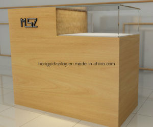 Wooden Veneer Desk, Cash Table, Checkout Counter pictures & photos
