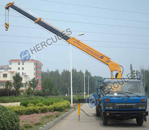 Telescopic Boom Truck-Mounted Crane (SQ12SA3) pictures & photos