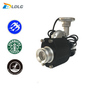 1100lm LED Logo Gobo Outdoor Rotating Projector Door Lights pictures & photos
