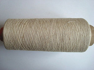 Viscose Linen Blenched Yarn -Ne30s/1 pictures & photos