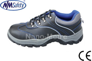 Nmsafety Cowhide Leather Steel Toe Cap Rigger Safety Shoes pictures & photos