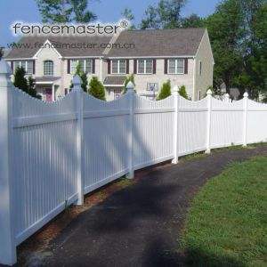 Lead Free Vinyl Picket Fence pictures & photos