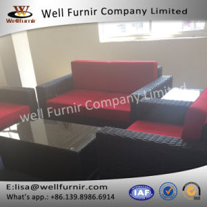 Well Furnir 4 Seater Outdoor Wicker Conversation Set with Cushion pictures & photos
