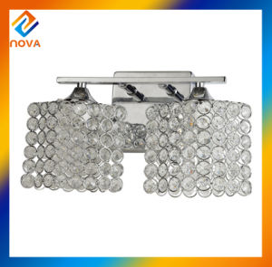 Indoor Light Crystal Chrome Square Wall Lamp pictures & photos