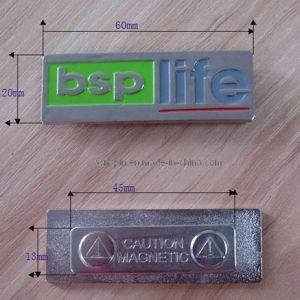 Stamping Painted Brass Metal Magnet Name Tag - China Name Tag,Metal