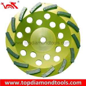 Swirl Diamond Grinding Cup Wheels pictures & photos