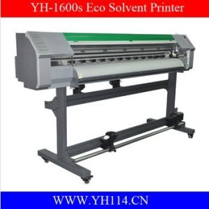 1.6m Piezo Outdoor Eco Solvent Inkjet Printer for Banner 1440dpi pictures & photos