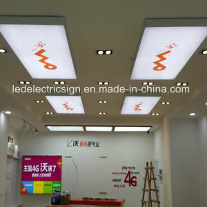 Ceiling Hanging Wall Sign Light for Frameless Tension Fabric Light Box pictures & photos