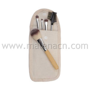 Eco-Friendly Bamboo Handle 5PCS Makeup Brush pictures & photos