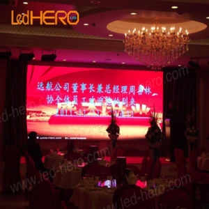 P5.208 Indoor Rental LED Display Aluminum Extrusions Fashion Video