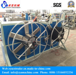 PE/PVC/PP SWC Single Wall Corrugated Pipe Line Making Machine pictures & photos