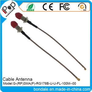 RP SMA P Rg178b U U FL 100m Cable Antenna for Cable Radio Antenna