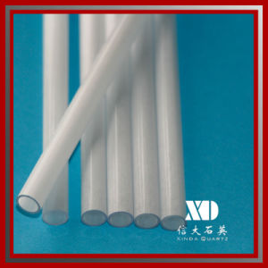 Free Sample Milky Quartz Pipe for Heating Lighting