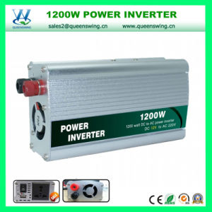 High Frequency 1200W Car Solar Power Inverter (QW-1200MUSB) pictures & photos