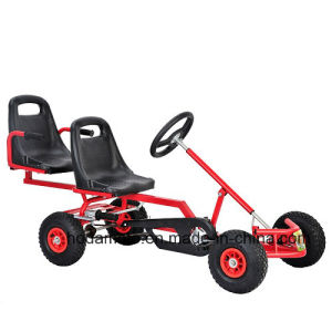 Kids Playing Single Seats Double Seats Foot Sports Pedal Go Kart (KD-02)