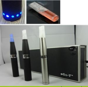 Newest EGO-T LED 650/900/1100/1300mAh E-Cigarette/EGO Tank LED with Clear Atomizer