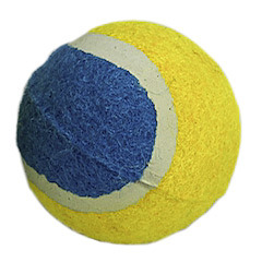 Natural Rubber with Polyester Felt Tennis Ball pictures & photos