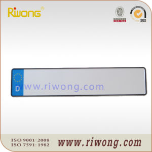 Europe Blank Number Plate with Country Inscript and Blue Print pictures & photos