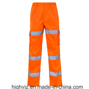 Reflective 3 Band Combat Trousers with En20471 (C2396) pictures & photos