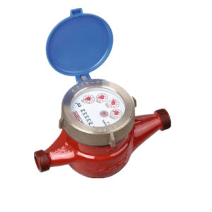 Traditional Dry Dial Rotary Vane Wheel Brass Flow Water Meter pictures & photos
