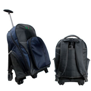 Waterproof Backpack with Trolley for Laptop, Travelling pictures & photos