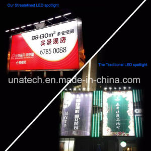 Economic Cheap Outdoor LED Streamlined Linear Floodlight for Tri-Vision Billboard Sign pictures & photos