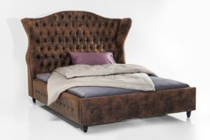 European Modern Cloth Art Bed Home Furniture pictures & photos