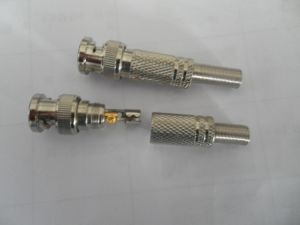 BNC Male Connector with Spring for CCTV pictures & photos