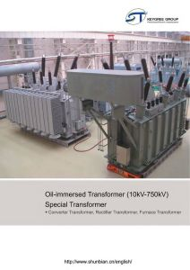 6~35kv 3 Phase Oil Immersed Power Distribution Transformer pictures & photos