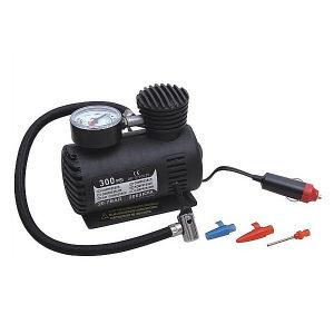 Plastic Mini Air Compressor with Pressure Gauge pictures & photos