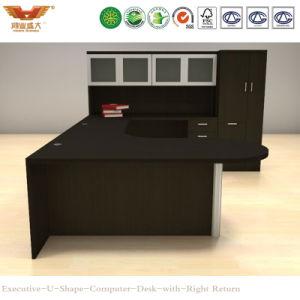 Modern Office Furniture Wooden Executive U Shape Computer Desk (HY-U01) pictures & photos