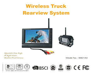 Wireless Car Rearview System for Truck or Bus