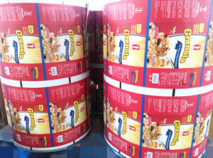 Plastic Food Packaging Film with Vivid Gravure Printing pictures & photos