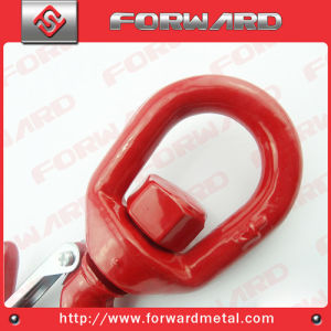 Drop Forged Us Type 322A Alloy Steel Swivel Hook pictures & photos