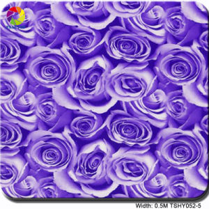 Tsautop 0.5m Tshy052-5 Flower Pattern Water Soluble Paper/Transfer Printing Film pictures & photos