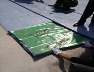 1.2mm Reinforced Self-Adhesive Bitumen Membrane pictures & photos