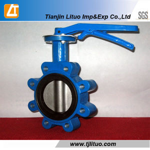 Cast Iron or Ductile Iron Wafer Type Butterfly Valve pictures & photos