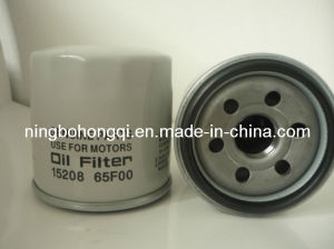 Oil Filter 15208-65f00 for Nissan pictures & photos