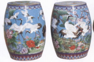 Cloisonne Stool pictures & photos