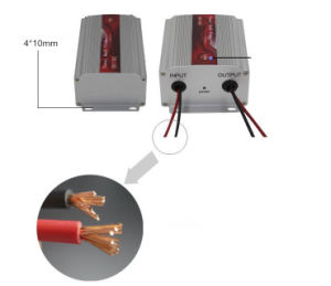 30A Car Power Converter DC 24V to 12V Car Electronic Converter (QW-DC30A) pictures & photos