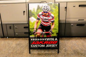 Customised Signage Double Side Blackbord Sunshine Coast Heavy Duty a Frame Signs Perth Giant Pushbikes Brisbane Colorbond Sandwich Board Printed Poster Display pictures & photos