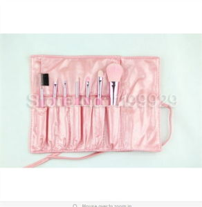 Lovely Pink Professional New 7 PCS Elaborate Cosmetic Makeup Brushes Tool Make up Brushes Set pictures & photos