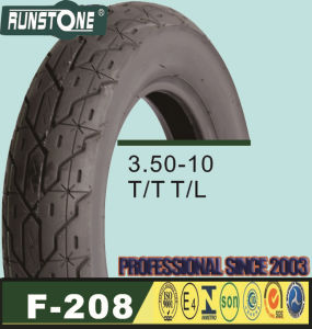Motorcycle Tyre/Scooter Tyre 3.50-10 pictures & photos