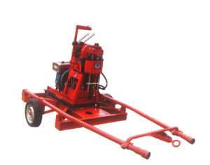 Portable Trailer Mounted Mineral Exploration Drilling Rig (XY-100) pictures & photos