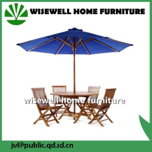 5-Pieces Solid Wood Garden Furniture pictures & photos