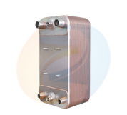 Zl130 Series Stainless Steel AISI 316 Plates Copper Brazed Plate Heat Exchanger Evaporator pictures & photos